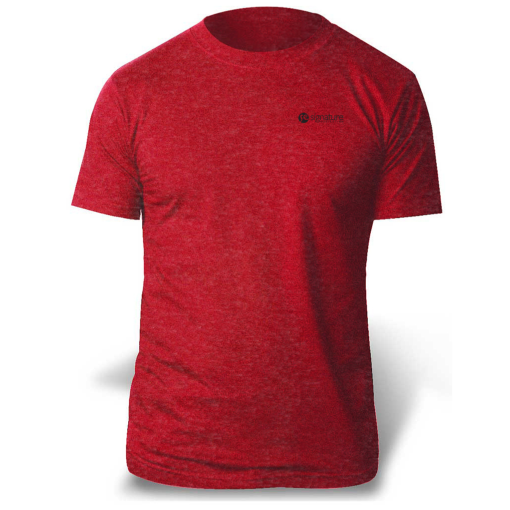 a5b621290 M & O Knits 3541 Fine Blend Tee - Men's - Push Promotional Products ...