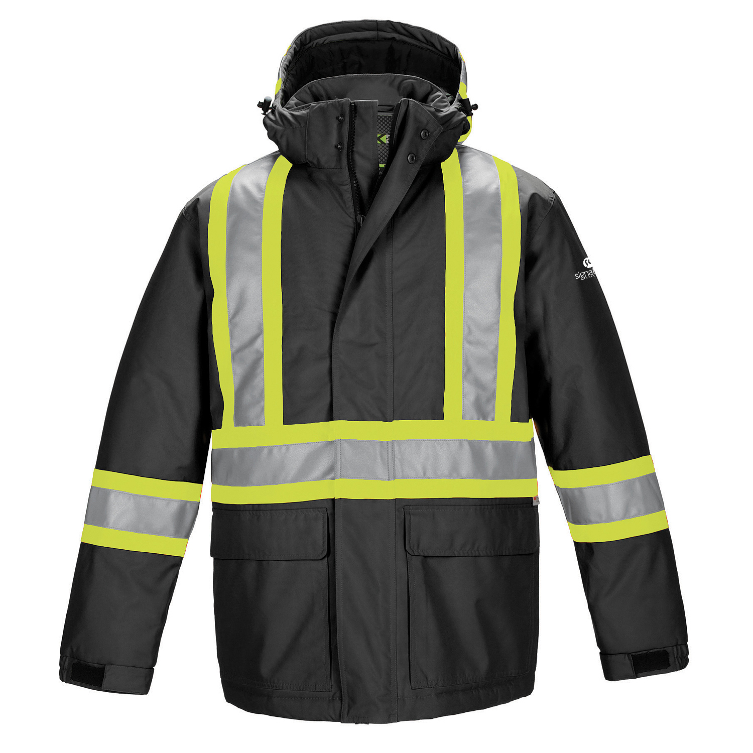 560d9f89844 Armour Polyester Canvas Hi-Vis Insulated Parka - Push Promotional Products  - Promotional Products