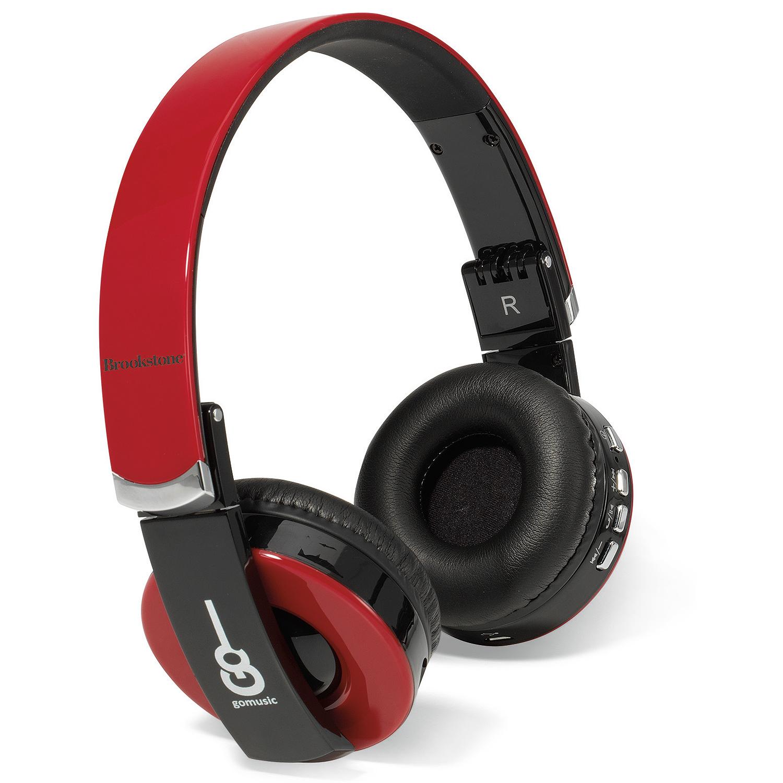 43678f930e9 Brookstone® Rhapsody Bluetooth® Headphones - Push Promotional ...