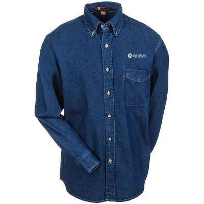 efd883dbf18 ... Harriton 6.5 Oz. Long Sleeve Denim Shirt ‹Return to Previous Page. Bug  Fix